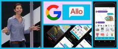 Google presenta una potente app de mensajería instantánea: Google Allo  una nueva app inteligente para Android e iOS que te ayudará a hacer y decir más cosas directamente desde tus chats. La nueva app de Google puede ayudarte a... ARTICULO COMPLETO: http://www.aloastyle.com/2016/09/google-presenta-una-potente-app-de-mensajeria-instantanea.html