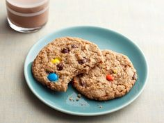 Monster Cookies from FoodNetwork.com - Awesome recipe, makes soft and chewy cookies with tons of flavor