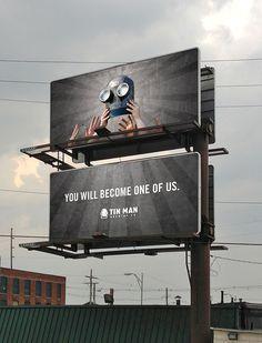 Tin Man Brewing Co. Billboard