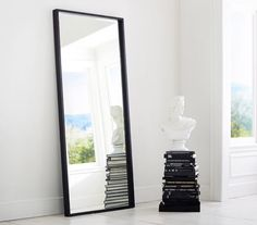 Leaning Floor Mirror. Good Leaning Floor Mirror With Leaning Floor ...