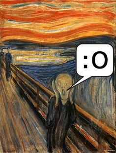 The Scream of Nature ~ A Painting by Edvard Munch Le Cri Edvard Munch, Scream Parody, Scream Art, Mona Lisa, Expressionist Artists, Oeuvre D'art, Impressionism, Caricature, Art Images