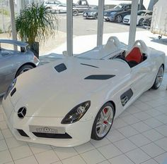 SLR Stirling Moss - via @LuxuryLifestyleMagazine for more exotic cars - Photo by @CarSpotting_Germany