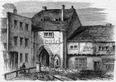 Remains of Bermondsey Abbey, in which Queen Elizabeth Wydville was confined.oreald.com