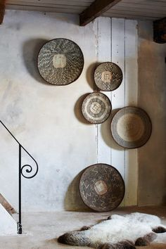AFRICA | Baskets | BaTonga Isangwa baskets from Southern Africa. Styling by Couleur Locals, Belgium. www.couleurlocale.eu/