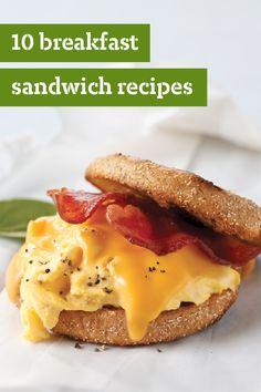 10 Breakfast Sandwich Recipes – Breakfast sandwiches are, by design ...