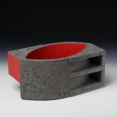 Partition Series 2009 (ceramic) by Wim Borst. Concrete Art, Private Club, Pottery Art, Bone China, Geometry, Porcelain, Sculpture, Cool Stuff, Abstract