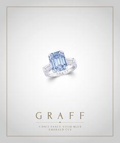 Fancy Vivid Blue Emerald Cut Diamond (5.09cts)