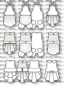 moldes vestidos gratis para imprimir - Pesquisa Google
