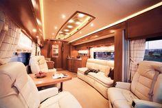 Luxury Living on Wheels: Stunning RVs