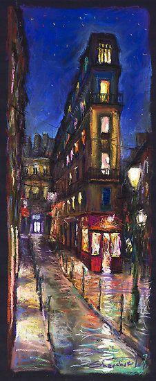 Paris Street 1 by Yuriy Shevchuk