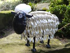 Metal Garden Sheep from Olive and Sage