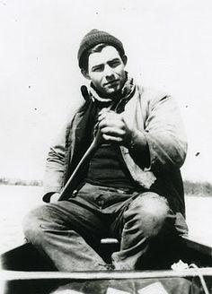 The man of my dreams...Ernest Hemingway.