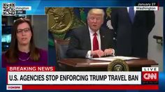 Trump's travel Ban Hits Legal Hurdles: Get Up to Speed | Off Topics via CNN  US President Donald Trump's on-again off-again travel ban is back with the courts after a tumultuous weekend when an appeals court opted to keep the suspension ordered by a federal judge until a final ruling can be made.  The now-suspended order bars citizens of seven Muslim-majority countries -- Iraq Syria Iran Libya Somalia Sudan and Yemen -- from entering the US for 90 days all refugees for 120 days and…