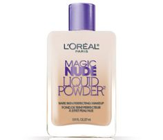 The first liquid powder foundation from L'Oreal Paris.Flawless nude look. No-makeup feel. Revolutionary liquid transforms on contact, leaving a fresh powder-like finish. This foundation is so amazingly lightweight it's like wearing no makeup at all. Just shake and apply – it's like magic!
