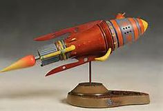 Buck Rogers Battle Cruiser -- A limited edition miniature based on the movie serial.