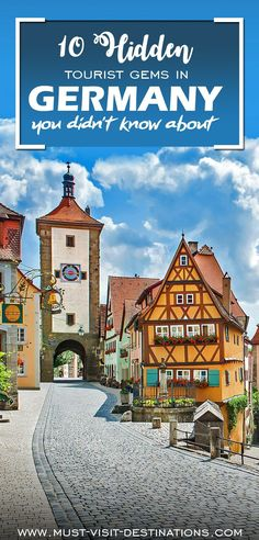 10 Hidden Tourist Gems In Germany You Didn't Know About - Must Visit Destinations Romantic Vacations, Romantic Getaway, Romantic Travel, Oh The Places You'll Go, Places To Travel, Travel Destinations, Places To Visit, Holiday Destinations, Visit Germany