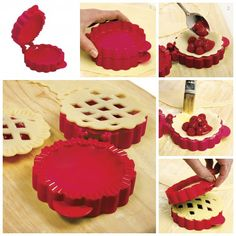 Mini Lattice Pie Mold -- this would have made making mini pies SO much easier! This is what I would love to serve all the guest for dessert...since cake is overrated.