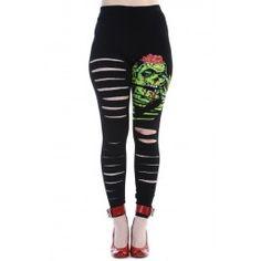 Legging Psychobilly Gothique Destroy Zombie