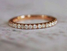 2mm full eternity diamond band  ♥