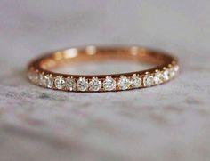 2mm full eternity diamond band  ♥