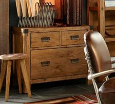 Dawson Lateral File Cabinet | Pottery Barn | Furniture | Pinterest ...