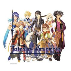 Tales of Vesperia not technically an anime but still awesome.
