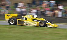 rene arnoux 1978 | René Arnoux alla guida della Renault che fu di Jean-Pierre Jabouille ...
