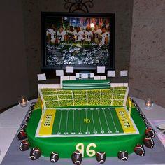 #Baylor / Floyd Casey Stadium groom's cake!