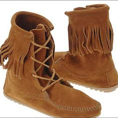Minnetonka Fringe Boot