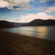 Pôr do Sol na Praia Dura - Ubatuba / SP