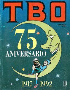 Portada TBO del número conmemorativo del 75 aniversario del cómic