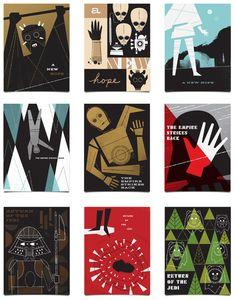 Star Wars x Ty Mattson posters