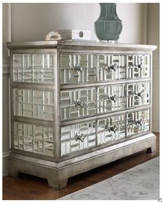 Design: John-Richard's Mirrored Dresser TheGloss