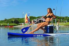 While smaller boats and kayaks can provide greater accessibility for fishers, nothing beats that of a paddle board. Learn about paddle board fishing here!