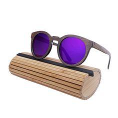 BerWer Handcrafted Bamboo Woodies Sunglasses