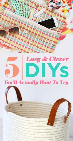 5 Easy And Clever DIYs You'll Actually Want To Try