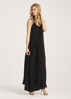 au lait | the gathered floor length dress