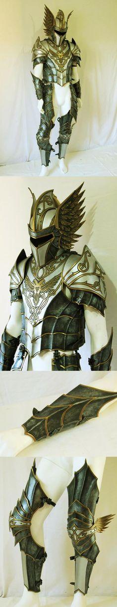 STUNNING armor design by Luca De Rubeis