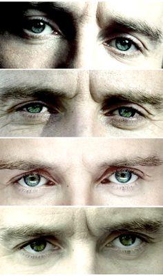 Michael Fassbender's eyes!