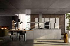 BEST anta NARA - Cucina ad angolo con colonne | Showroom and Kitchens