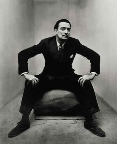 Salvador Dalí - irving penn corner portraits 1948