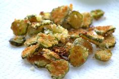 panko fried pickles- yes, please.
