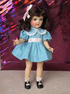 Toni Doll_1950 - Got this wonderful doll for Christmas when I was about 7 years old.  She happily resides with my Story Book Dolls and an original Kewpie Doll in my daughter's doll collection!