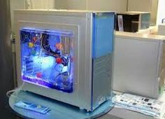 Tech Savvy Fish Tank