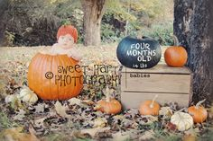 Pumpkin Hat-  Photo Prop