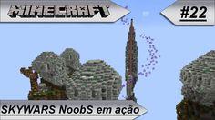MINECRAFT Skywars NoobS em ação!! #22