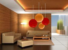 Zen Inspired Living Room indorporate levels of lighting for enhanced mood.   style tutorial