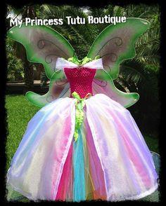Fairy Tutus Fairy Tutu Dress Princess Tutu by MyPrincessTutuBoutique