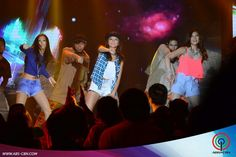 """Here is Alex Gonzaga, Kathryn Bernardo, and Janella Salvador dancing """"Watch Me (Whip/Nae-Nae) during a dance production number on ASAP last June 28, 2015. Kathryn is also a talented dancer, """"Watch Me (Whip/Nae-Nae)"""" by Silentó was a famous worldwide novelty dance craze last year. Child Actresses, Child Actors, Born Again Christian, Star Magic, Kathryn Bernardo, Comedians, Fashion Models, Abs, Singer"""