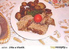 Sekaná s cuketou recept - TopRecepty.cz Eggs, Beef, Breakfast, Food, Meat, Morning Coffee, Egg, Meals, Ox